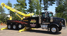 Heavy Duty Wrecker/Crane - Al's Automotive & Truck