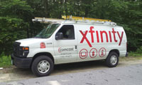 Ford e250 Service Van - Comcast