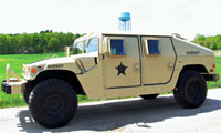1993 Armored Humvee - Rockingham County Sheriff