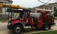 Bucket Truck - Urban Tree Service